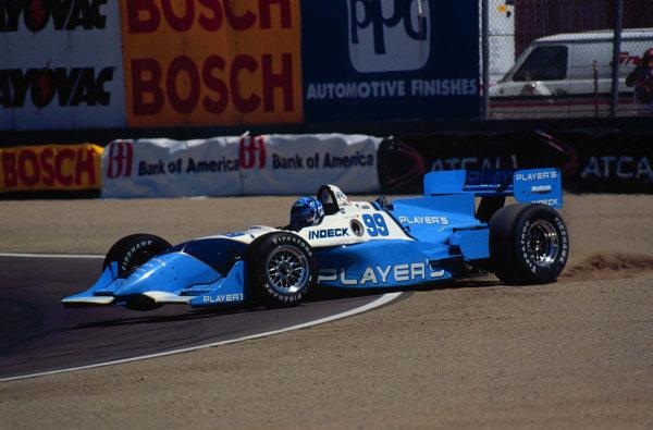 1996 CART Laguna SecaGreg Moore spins-1996, Michael L. LevittLAT Photographic