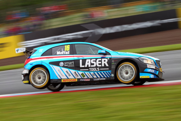 2017 British Touring Car Championship, Knockhill, Scotland. 12th-13th August 2017, Aiden Moffat (GBR) Laser Tools Racing Mercedes Benz A-Class World copyright. JEP/LAT Images