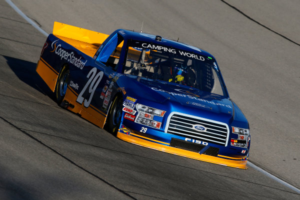 NASCAR Camping World Truck Series TheHouse.com 225 Chicagoland Speedway, Joliet, IL USA Thursday 14 September 2017 Chase Briscoe, Cooper Standard Ford F150 World Copyright: Lesley Ann Miller LAT Images