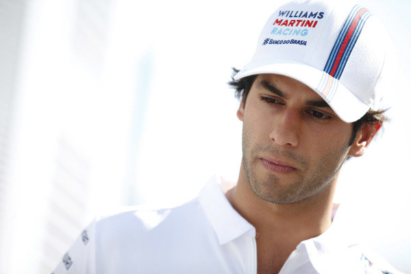 Circuit de Catalunya, Barcelona, Spain. Thursday 8 May 2014. Felipe Nasr, Test and Reserve Driver, Williams F1. World Copyright: Glenn Dunbar/LAT Photographic. ref: Digital Image _W2Q5287