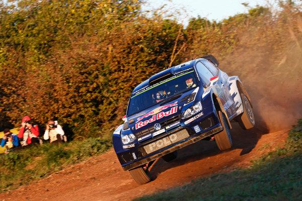 2015 World Rally Championship  Round 12, Rally of Spain, Catalunya 22nd - 25th October, 2015 Jari-Matti Latvala, VW, action  Worldwide Copyright: McKlein/LAT