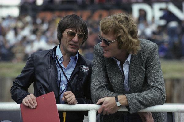 Bernie Ecclestone and Max Mosley.