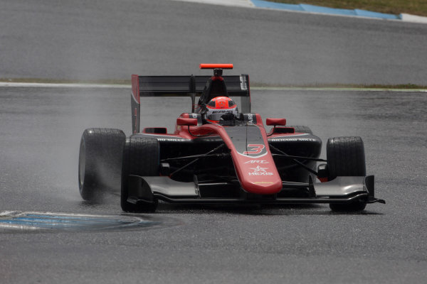 2017 GP3 Series Testing Estoril, Portugal. Wednesday 22 March 2017 George Russell (GBR, ART Grand Prix). Action.  Photo: Alastair Staley/GP3 Series Media Service ref: Digital Image 585A1323