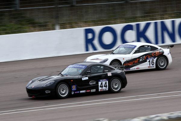 2017 Ginetta GT5 Championship Rockingham, England. 29th-30th April 2017, Max Bird Century Motorsport Ginetta G40 World copyright. JEP/LAT Images