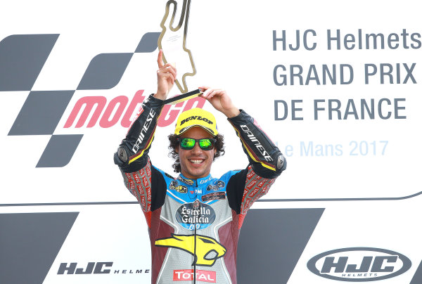 2017 Moto2 Championship - Round 5 Le Mans, France Sunday 21 May 2017 Winner Franco Morbidelli, Marc VDS World Copyright: Gold & Goose Photography/LAT Images ref: Digital Image 671684