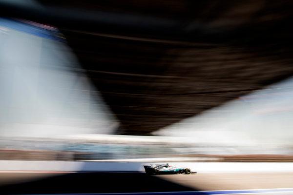 Sochi Autodrom, Sochi, Russia. Friday 28 April 2017. Lewis Hamilton, Mercedes F1 W08 EQ Power+.  World Copyright: Glenn Dunbar/LAT Images ref: Digital Image _31I8109