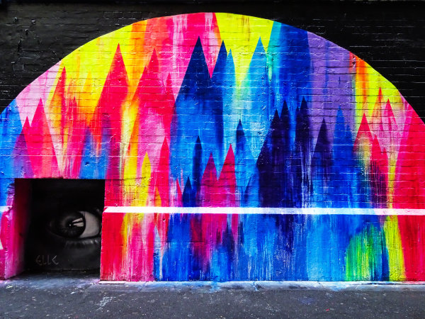 Melbourne, Australia Tuesday 21 March 2017. Street Art Photo: Sam Bloxham/LAT ref: Digital Image DSC00107