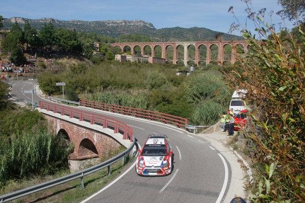 Round 11 Rally Catalunya 01-04 October 2009Sebastien Ogier, Citroen, WRC, ActionWorldwide Copyright: McKlein/LAT