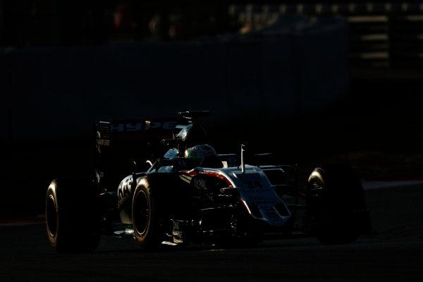 Circuit de Catalunya, Barcelona, Spain Thursday 25 February 2016. Alfonso Celis, Force India VJM09 Mercedes. World Copyright: Alastair Staley/LAT Photographic ref: Digital Image _79P4776