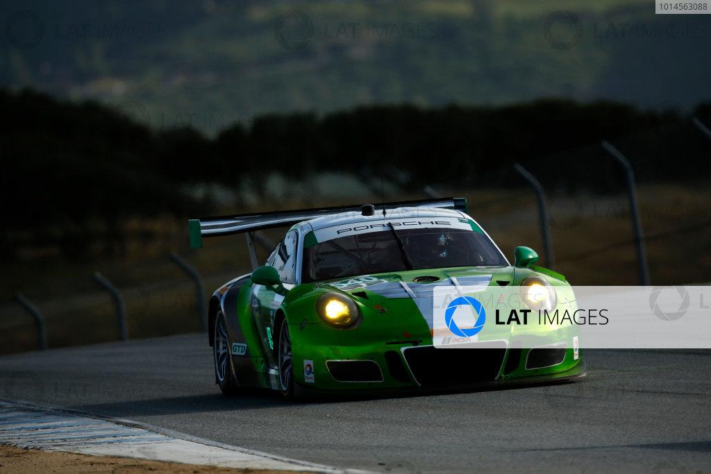 29 April - May 1, 2016, Monterey, California , 540, Porsche, GT3 R, GTD, Timothy Pappas, Nicky Catsburg ?2016, Michael L. Levitt LAT Photo USA