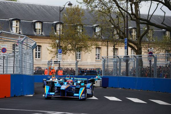 2015/2016 FIA Formula E Championship. Paris ePrix, Paris, France. Saturday 23 April 2016. Robin Frijns (NLD), Andretti - Spark SRT_01E. Photo: Glenn Dunbar/LAT/Formula E ref: Digital Image _89P5487