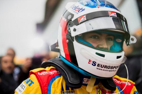 2017 GP3 Series Round 3.  Silverstone, Northamptonshire, UK. Sunday 16 July 2017.Giuliano Alesi (FRA, Trident).  Photo: Zak Mauger/GP3 Series Media Service. ref: Digital Image _56I0101