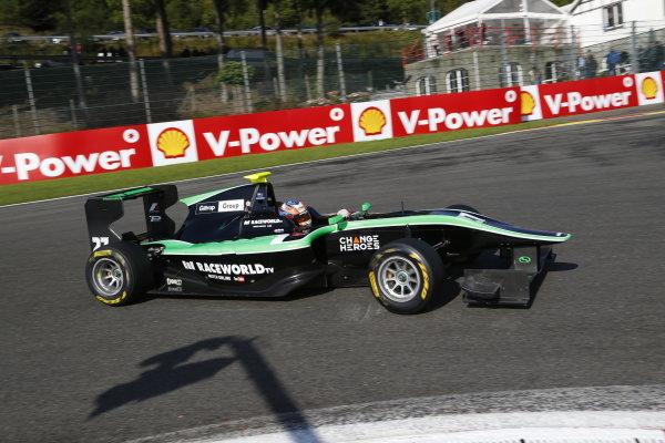 2014 GP3 Series Round 6. Spa-Francorchamps, Spa, Belgium. Sunday 24 August 2014. Richie Stanaway (NZL, Status Grand Prix)  Photo: Jed Leicester/GP3 Series Media Service. ref: Digital Image _ED_2823