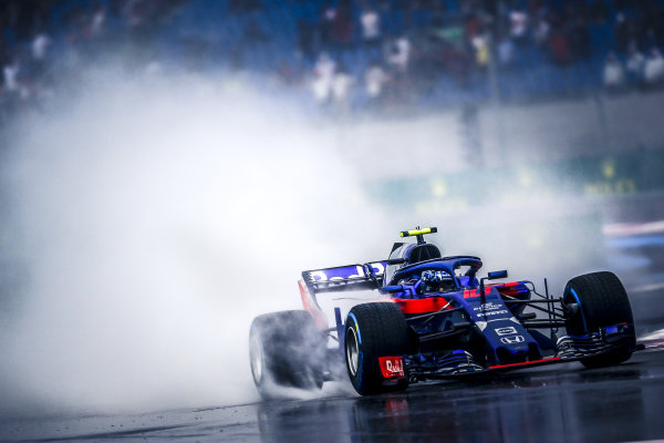 Pierre Gasly (FRA) Scuderia Toro Rosso STR13