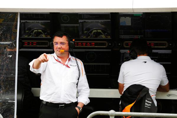 Eric Boullier, Racing Director, McLaren.