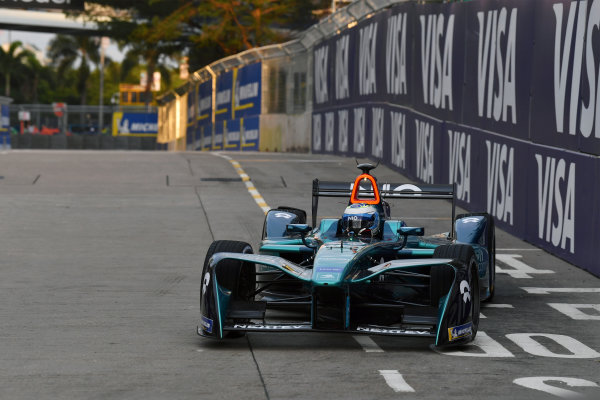 2017/2018 FIA Formula E Championship. Round 1 - Hong Kong, China. Saturday 02 December 2018. Luca Filippi (ITA), NIO Formula E Team, NextEV NIO Sport 003. Photo: Mark Sutton/LAT/Formula E ref: Digital Image DSC_8539