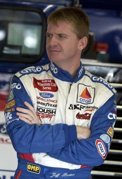 Jeff Burton (USA) CITGO Racing Ford finished fourth.NASCAR Winston Cup Series, Pop Secret Microwave Popcorn 400, Rockingham, North Carolina, USA, 3 November 2002.DIGITAL IMAGE