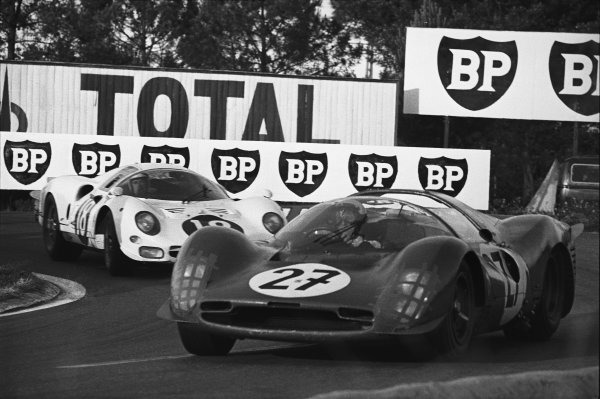 Le Mans, France. 18th - 19th June 1966. 