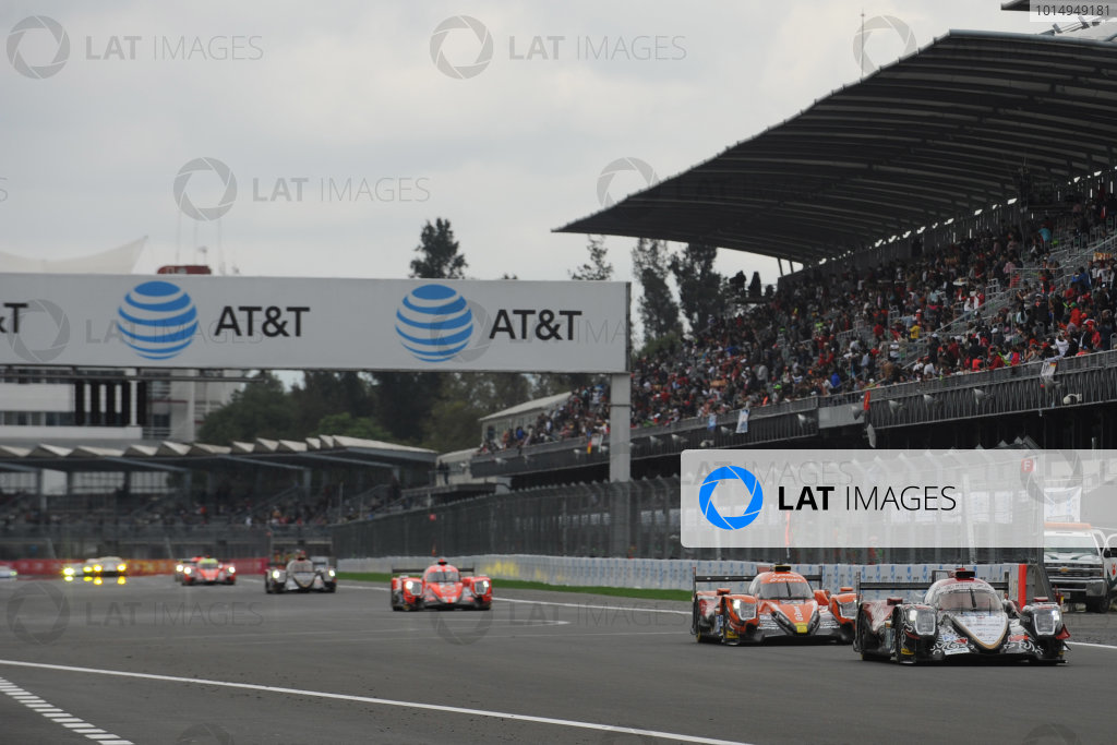 2017 World Endurance Championship, Mexico City, Mexico. 1st-3rd September 2017, #38 Jackie Chan DC Racing ORECA 07-Gibson: Ho-Pin Tung, Thomas Laurent, Oliver Jarvis  World copyright. JEP/LAT Images