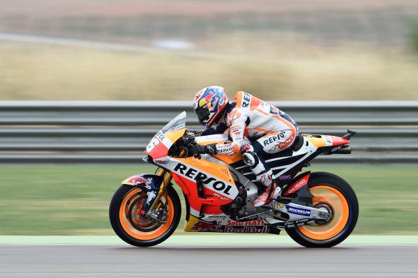 2017 MotoGP Championship - Round 14 Aragon, Spain. Friday 22 September 2017 Dani Pedrosa, Repsol Honda Team World Copyright: Gold and Goose / LAT Images ref: Digital Image 693677