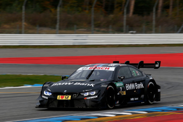 2017 DTM Round 9  Hockenheimring, Germany  Friday 13 October 2017. Bruno Spengler, BMW Team RBM, BMW M4 DTM  World Copyright: Alexander Trienitz/LAT Images ref: Digital Image 2017-DTM-HH2-AT2-0208