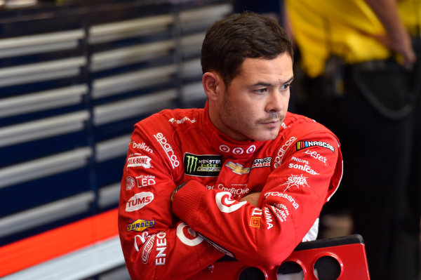 Monster Energy NASCAR Cup Series Bank of America 500 Charlotte Motor Speedway, Concord, NC USA Friday 6 October 2017 Kyle Larson, Chip Ganassi Racing, Credit One Bank Chevrolet SS World Copyright: Nigel Kinrade LAT Images