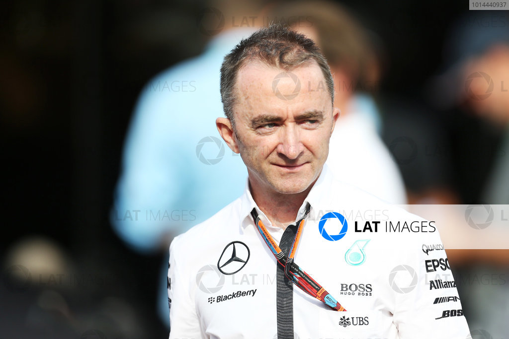 Autodromo Nazionale di Monza, Monza, Italy. Friday 4 September 2015. Paddy Lowe, Executive Director (Technical), Mercedes AMG. World Copyright: Jed Leicester/LAT Photographic ref: Digital Image JL1_8175