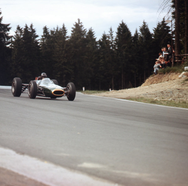 Spa-Francorchamps, Belgium.12-14 June 1964.Dan Gurney (Brabham BT7 Climax) 6th position.Ref-3/1263.World Copyright - LAT Photographic