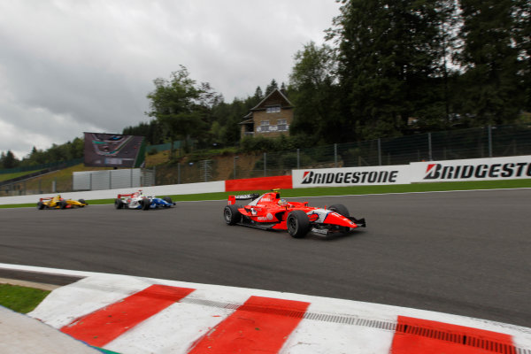 Spa - Francorchamps, Spa, Belgium. 29th August.Sunday Race.Rodolfo Gonzalez (VEN, Arden International). Action.Photo: Andrew Ferraro/GP2 Media Service.Ref: __Q0C2085 jpg