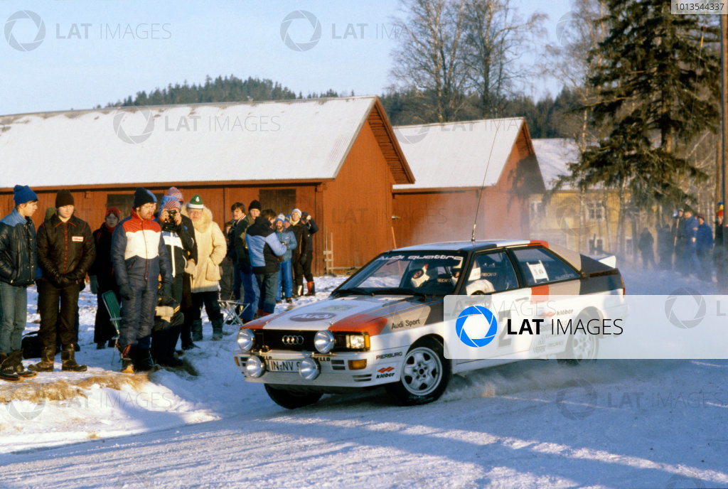 Swedish Rally, Sweden. 13-15 February 1981.