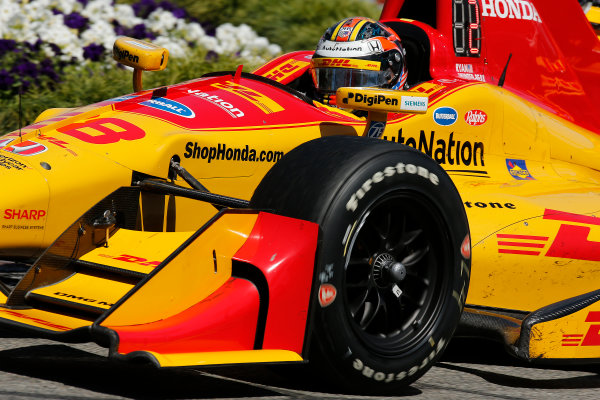 2017 Verizon IndyCar Series Toyota Grand Prix of Long Beach Streets of Long Beach, CA USA Sunday 9 April 2017 Ryan Hunter-Reay World Copyright: Perry Nelson/LAT Images ref: Digital Image nelson_lb_0409_3546