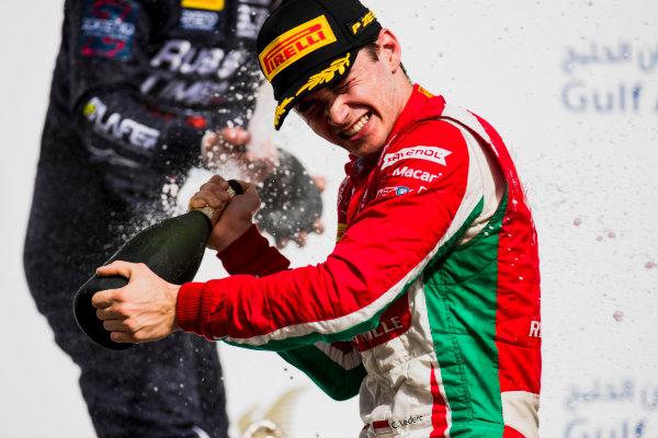 2017 FIA Formula 2 Round 1. Bahrain International Circuit, Sakhir, Bahrain.  Sunday 16 April 2017. Charles Leclerc (MCO, PREMA Racing)  Photo: Zak Mauger/FIA Formula 2. ref: Digital Image _56I2116