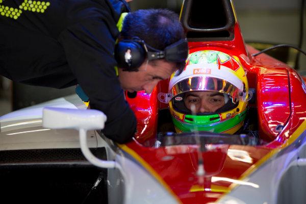 Circuit de Barcelona Catalunya, Barcelona, Spain. Wednesday 15 March 2017. Roberto Merhi (ESP, Campos Racing).  Photo: Alastair Staley/FIA Formula 2 ref: Digital Image 585A0088