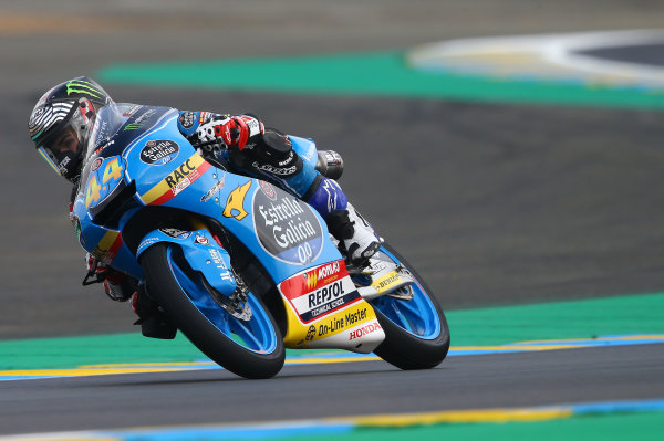 2017 Moto3 Championship - Round 5 Le Mans, France Saturday 20 May 2017 Aron Canet, Estrella Galicia 0,0 World Copyright: Gold & Goose Photography/LAT Images ref: Digital Image 671089