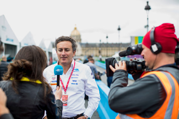 2016/2017 FIA Formula E Championship. Paris ePrix, Paris, France. Friday 19 May 2017. Alejandro Agag. Photo: Zak Mauger/LAT/Formula E ref: Digital Image _56I1336