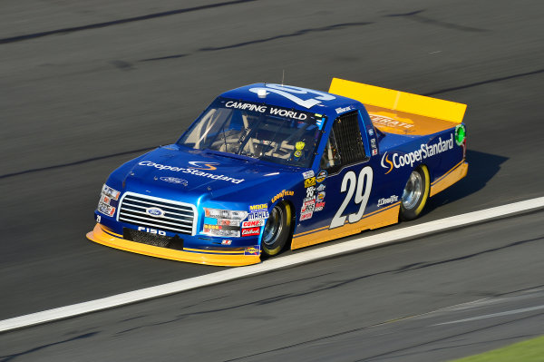 NASCAR Camping World Truck Series North Carolina Education Lottery 200 Charlotte Motor Speedway, Concord, NC USA Thursday 18 May 2017 Chase Briscoe, Cooper Standard Ford F-150 World Copyright: John K Harrelson LAT Images ref: Digital Image 17CLT1jh_00414