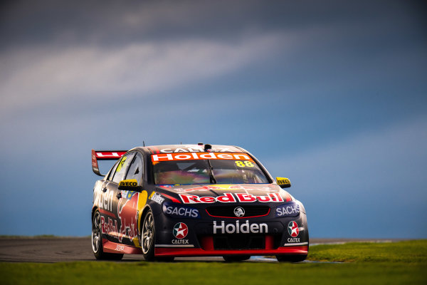 2017 Supercars Championship Round 3.  Phillip Island 500, Phillip Island, Victoria, Australia. Friday 21st April to Sunday 23rd April 2017. Jamie Whincup drives the #88 Red Bull Holden Racing Team Holden Commodore VF. World Copyright: Daniel Kalisz/LAT Images Ref: Digital Image 210417_VASCR3_DKIMG_1743.JPG
