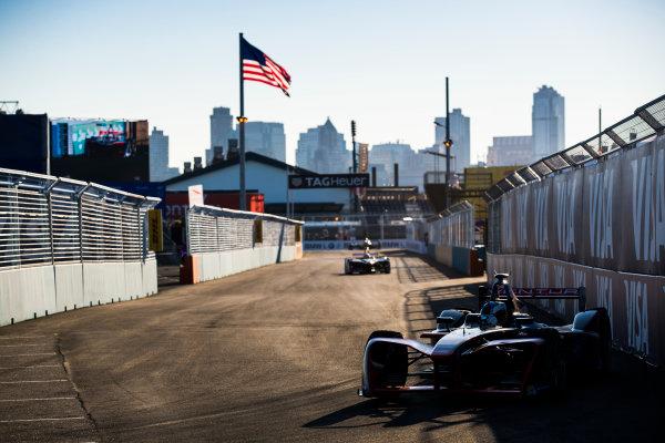 2016/2017 FIA Formula E Championship. Round 10 - New York City ePrix, Brooklyn, New York, USA. Sunday 16 July 2017. Maro Engel (GER), Venturi, Spark-Venturi, Venturi VM200-FE-02. Photo: Sam Bloxham/LAT/Formula E ref: Digital Image _J6I4163