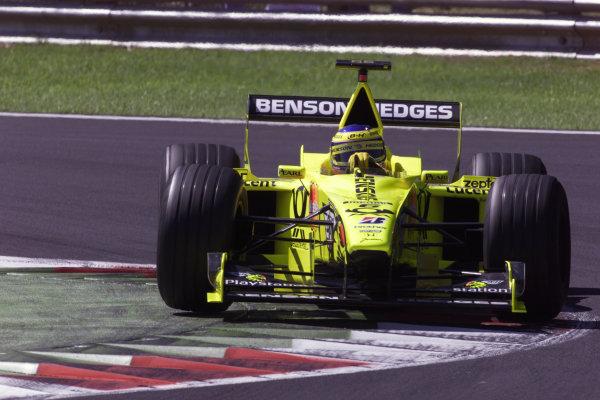 Monza, Italy. 8-10 September 2000.Jarno Trulli (Jordan EJ10 Mugen Honda). World Copyright - LAT Photographic