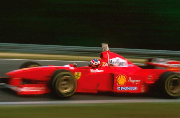 Hungaroring, Hungary.8-10 August 1997.Michael Schumacher (Ferrari F310B) 4th position.Ref-97 HUN 12.World  Copyright - LAT Photographic