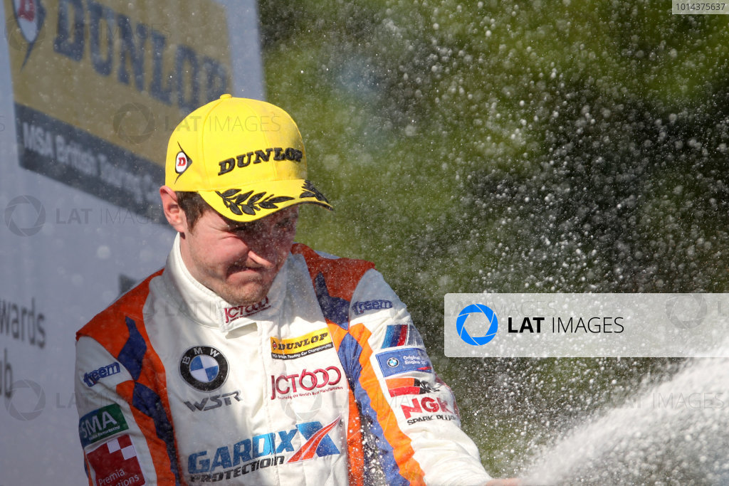 2015 British Touring Car Championship, Oulton Park, Cheshire. 6th-7th June 2015 Sam Tordoff (GBR) WSR BMW 125i M Sport World Copyright: Jakob Ebrey/LAT Photographic