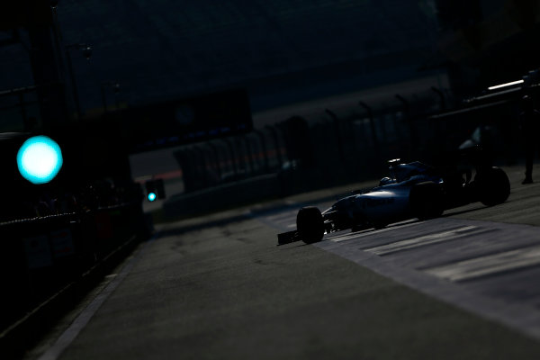 Shanghai International Circuit, Shanghai, China. Saturday 11 April 2015. Felipe Massa, Williams FW37 Mercedes. World Copyright: Andrew Hone/LAT Photographic. ref: Digital Image _ONZ1599