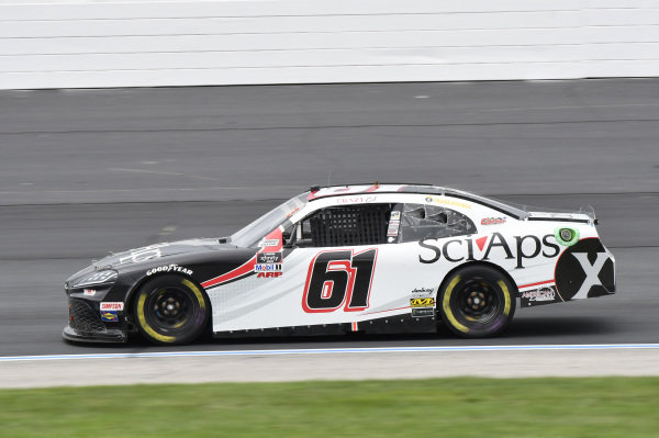 #61: C.J. McLaughlin, Hattori Racing Enterprises, Toyota Supra Sci Aps