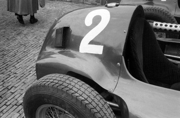 Mike Hawthorn's Ferrari 555.
