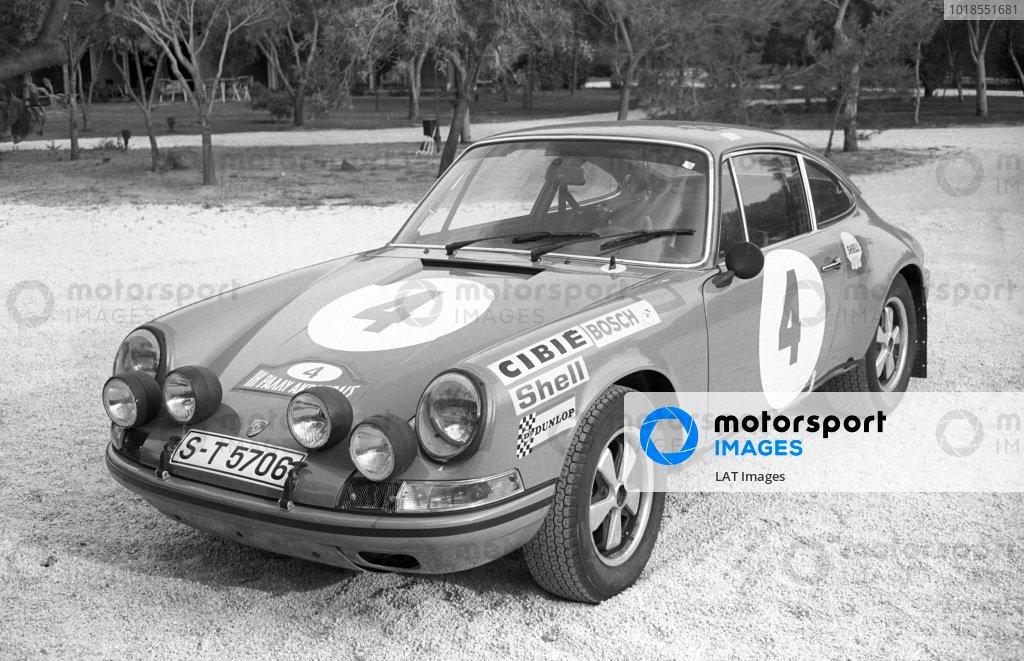 Åke Andersson / Bo Thorzellius, Porsche 911.