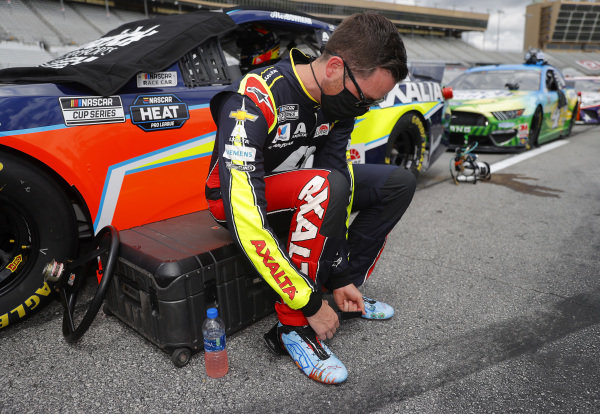 Alex Bowman, Hendrick Motorsports Chevrolet Axalta, Copyright: Chris Graythen/Getty Images.