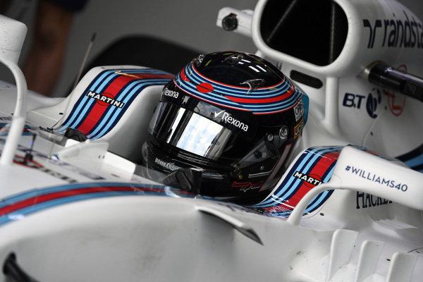 Lance Stroll (CDN) Williams FW40 at Formula One World Championship, Rd1, Australian Grand Prix, Practice, Albert Park, Melbourne, Australia, Friday 24 March 2017.