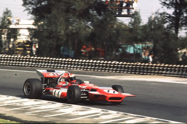 1970 Mexican Grand Prix.Mexico City, Mexico.23-25 October 1970.Jo Siffert (March 701 Ford).Ref-70 MEX 06.World Copyright - LAT Photographic