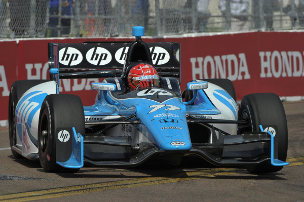 22-24 March, 2013, St Petersburg, Florida USA.#77 Simon Pagenaud Schmidt-Hamilton HP Motorsports Honda ©2013, Dan R.  LAT Photo USA
