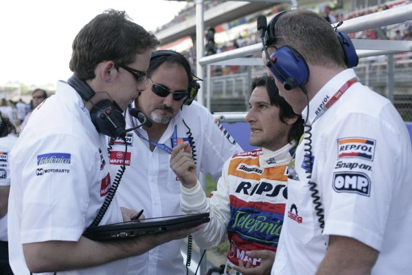 2008 GP2 Series. Round 1. Sunday Race.Barcelona, Spain. 27th April 2008Giorgio Pantano (ITA, Racing Engineering). Portrait. World Copyright: Alastair Staley/GP2 Series Media Service.ref:__P9O6014 jpg